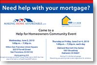Obama S Home Loan Modification Program Free Events In