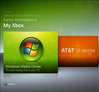 AT&T U-Verse TV now can use an Xbox360 as Alternative to using a Receiver