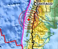 Chile coast shakes with 7.1 Magnitude Earthquake