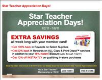 Office Depot Star Teacher Program