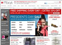Macy's President's Day Sale 2011 – Extra Discounts and Clearance Deals