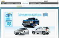 Chevy incentive deals offers $1000 Owner Loyalty Cash through February 2011