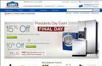 Lowe's Presidents Day Sale 2011