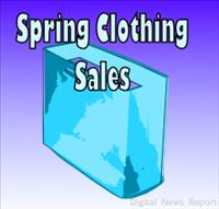 Spring Clothing Sales going on now