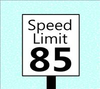Texas Speed Limit could go up to 85 Mph
