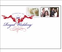 Royal Wedding Digital Color Postmark Souvenir Cover